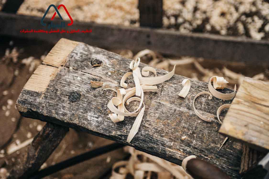 طريقة صنع رف خشبي